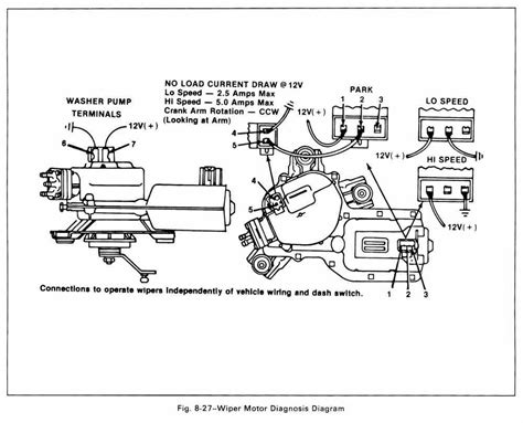 1984 Cj7 Brake Wire Diagram by Wrg 4272 86 Ranger Wiper Motor Wiring Diagram