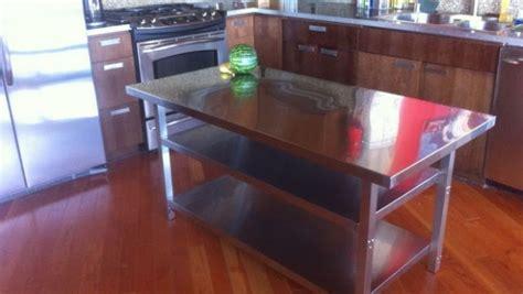 stainless steel kitchen island cart ikea hackers ikea