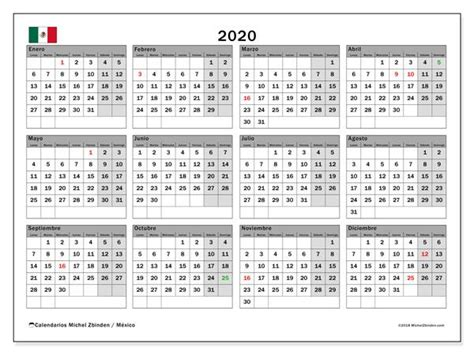 calendario  mexico calendario  imprimir gratis