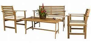 Table De Jardin En Bois Pas Cher : table jardin bois exotique pas cher ~ Teatrodelosmanantiales.com Idées de Décoration