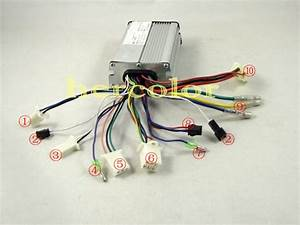 36v 350w Brushless Motor Controller For Electric Bike