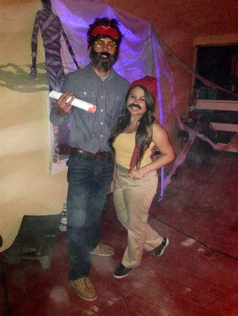 cheech and chong halloween diy couple costume
