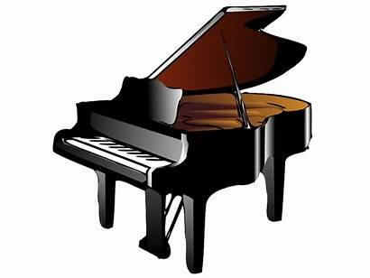 Piano Clipart Transparent Clip Musicais Instrumentos Grand
