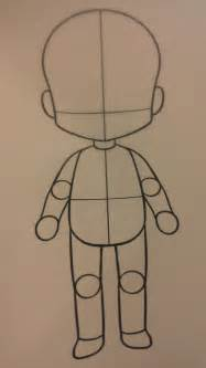 Drawing Chibi Body Templates