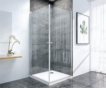 Corner 6mm Shower Entry Glass Door Bathroom