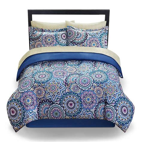 the big one emma bed set blue from kohl s bedding