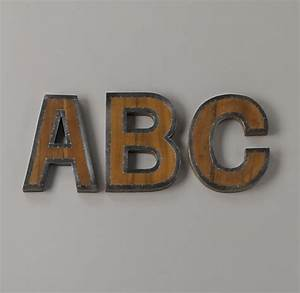 vintage finds diy industrial letters With industrial letters