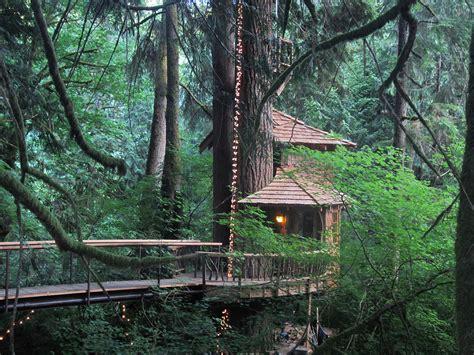 The Tranquilizing Treehouse Point  Washington (united