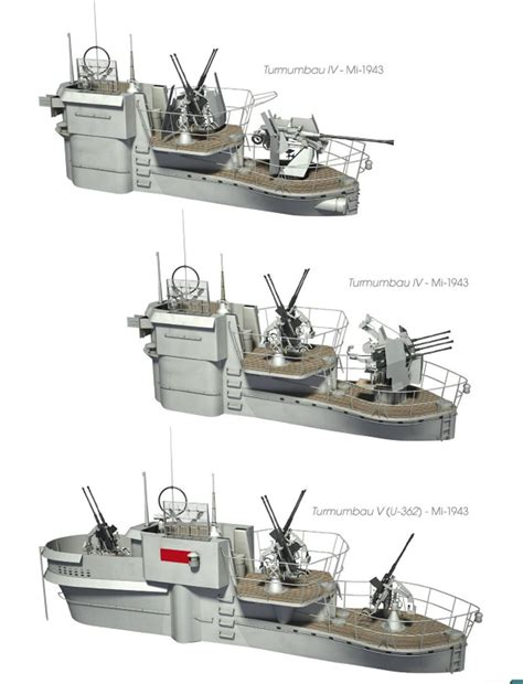 Types Of German U Boats by German U Boats By Different Conning Bridge Tower Design
