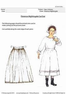 Florence Nightingale Cut Out | PrimaryLeap.co.uk