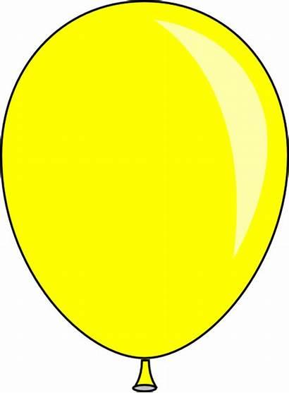 Yellow Clipart Baloon Balloon Clip Clker Cliparts
