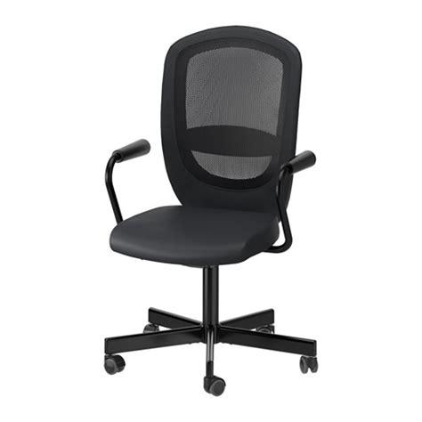chaises pivotantes flintan nominell chaise pivotante avec accoudoirs noir