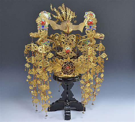 incredible antique japanese noh drama crown kanmuri