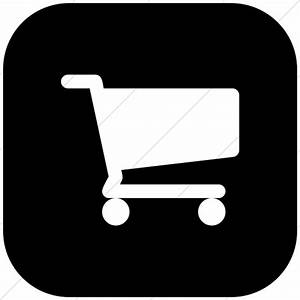 Pics For > Shopping Cart Icon Black