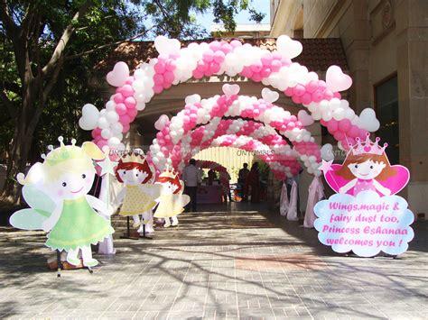 fairy themed birthday party   princess eshanaa