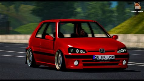 Peugeot 106 Gti by Peugeot 106 Gti Mod For Ets 2