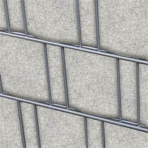 Sichtschutz Für Doppelstabmattenzaun : venezia hellgrau doppelstabmatten sichtschutzstreifen ~ Michelbontemps.com Haus und Dekorationen