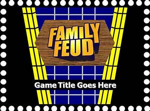 family feud powerpoint template free family feud with With family feud powerpoint template with sound
