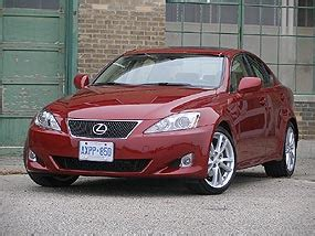 red lexus is 250 2006 first drive 2006 lexus is 250 350 autos ca