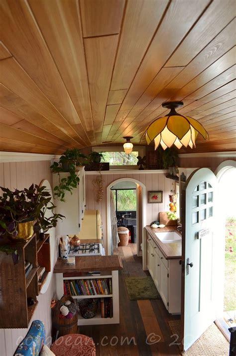 amazing tiny school bus cottage home design garden architecture blog magazine