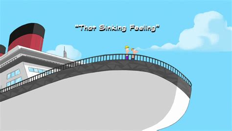 How To Make A Boat Game In Alice by That Sinking Feeling Phineas And Ferb Disney Wiki