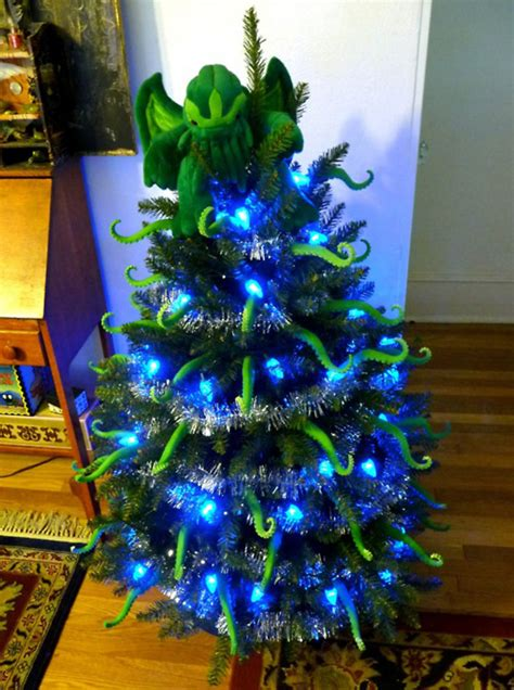 presents cthulhu tentacle  mas tree