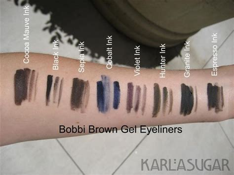 brown gel eyeliner swatches photos reviews