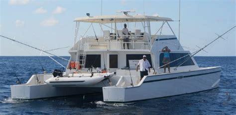 Offshore Dive Boats by 1998 Mick Jarrod Powercat Sportfisher Dive Boat Power Boat