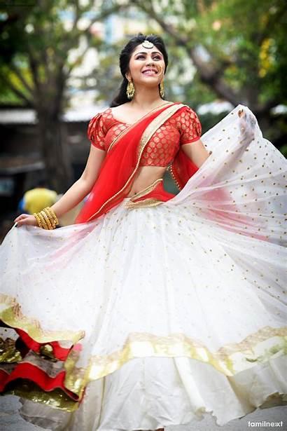 Actress Photoshoot Meghali Saree Half Tamil Tamilnext
