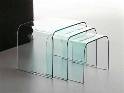 table verre gigogne