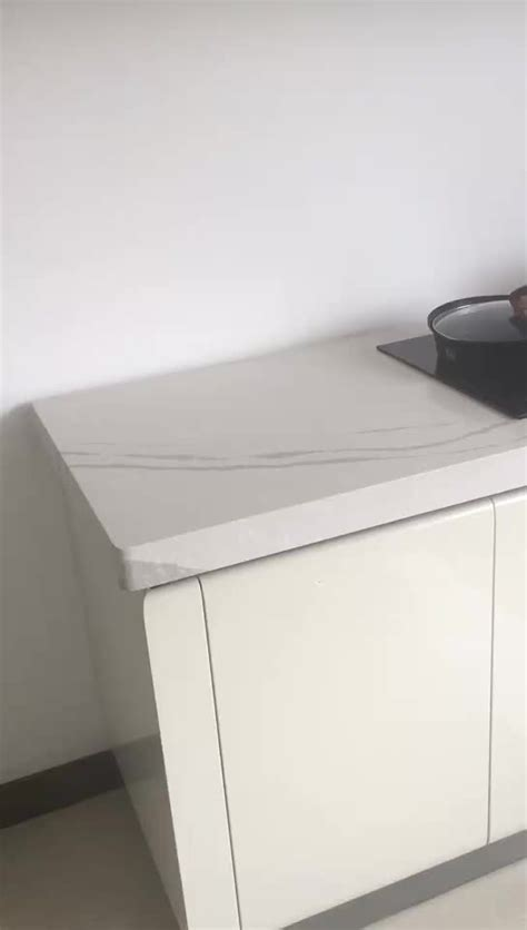 Engineering Countertops by Jazz White Quartz For Kitchen Countertop Engineering