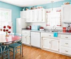 quot white retro kitchen laundry idea with red accents here
