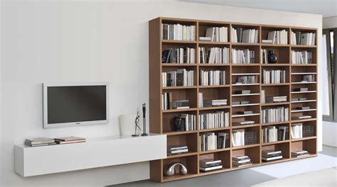 piccole librerie in legno libreria in legno componibile a parete wood sololibrerie