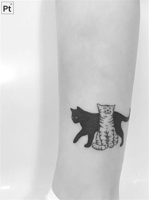 cats pointillism tattoo More | Cats And Kittens | Tattoos, Small tattoos, Pointillism tattoo