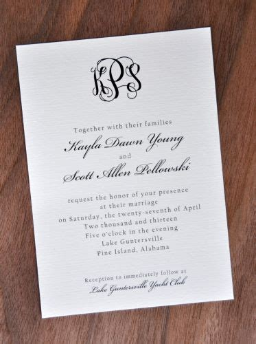 traditional wedding invitation wording images