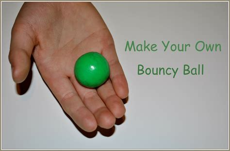 Have A Rolling Good Time When You Make A Bouncy Ball