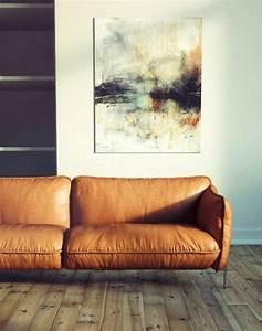 Braunes Sofa Weiße Möbel : braunes wohnzimmer 35 super ideen ~ Sanjose-hotels-ca.com Haus und Dekorationen