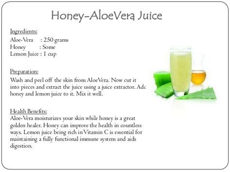 Aloe Vera Juice Weight Loss Recipes Weightlosslook
