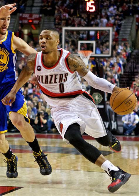 solewatch dame lillard wears fan designed adidas