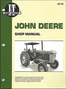 John Deere Tractor Repair Manual Models 2840  2940  2950