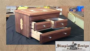 Making an Inlay Jewelry Box Part 2 - YouTube