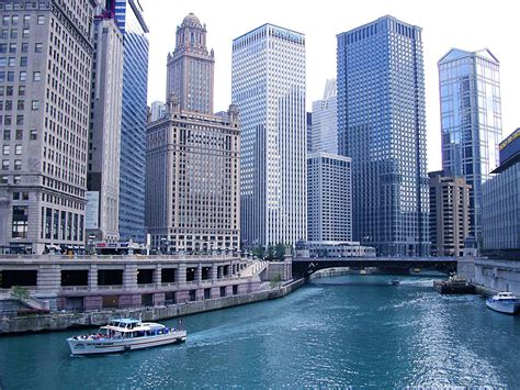 Free Chicago Photo by Free Chicago And River Stock Photo Freeimages