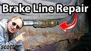 How To Replace A Brake Line In Your Car  The Easy Way