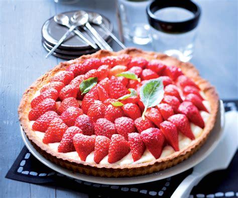 cuisine astuce recette facile tarte aux fraises et sa crème pâtissière