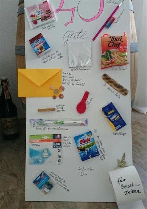 Herausragende Ideen Geschenke Zum 40 Geburtstag Selber