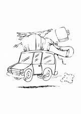 Colorare Road Disegno Trip Kleurplaat Vakantie Colorear Coloring Viaggio Vacanza Cars Dibujo Urlaub Dem Vacaciones Disegni Mat Malvorlage Coche Gratis sketch template