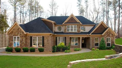 Vinyl Garden Window, Rustic Brick Ranch Homes Brick Home