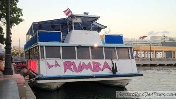 Party Boat San Juan Puerto Rico by La Rumba Party Cruise Floating Nightclub Old San Juan