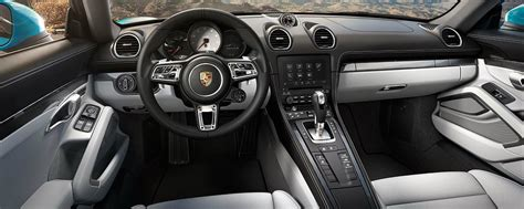porsche cayman interior 2017 2017 porsche 718 cayman upgrades and release date