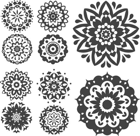 Find & download the most popular mandala vectors on freepik free for commercial use high quality images made for creative projects. Mandala Vector Set FREE CDR Design